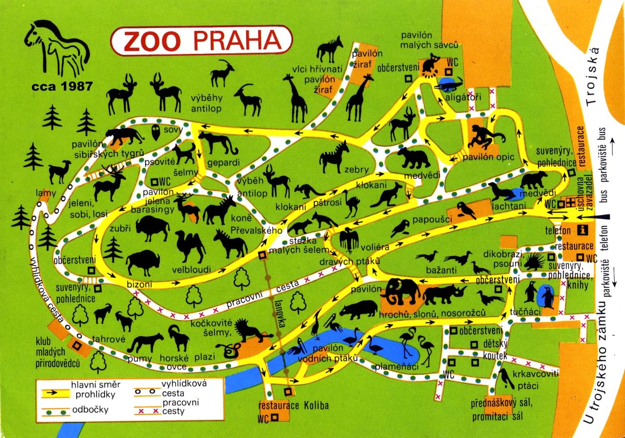 Схема проезда зоопарк малага